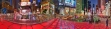 Montage color panoramic photo of Times Square, NYC by Tony Sweet