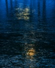 Photo of reflections, Icy sunset, Walden Pond, MA, 2013 © Tom Grill