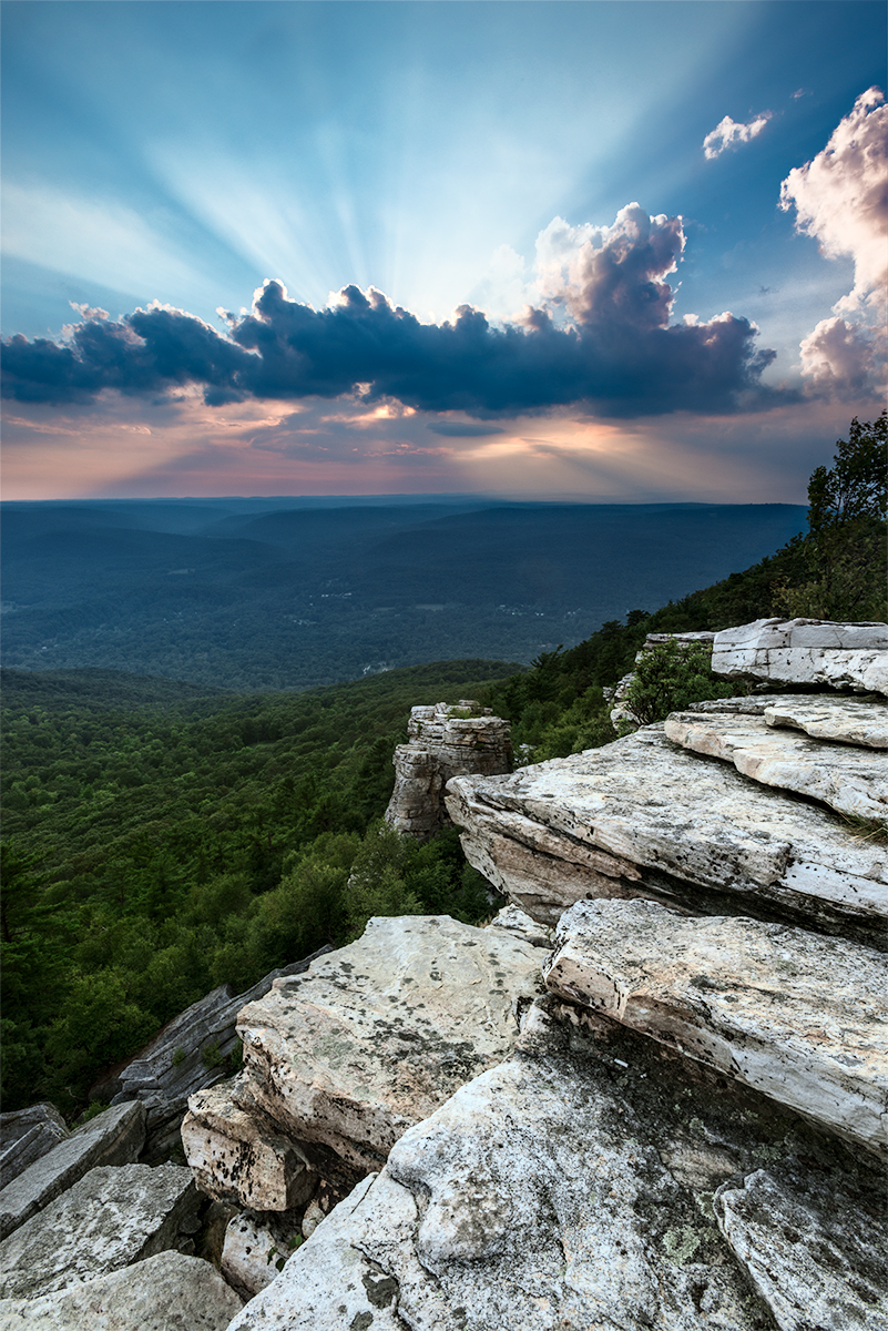 Photograph, © Greg Miller, Sunburst, Bear Hill Nature Preserve, Cragsmoor, NY