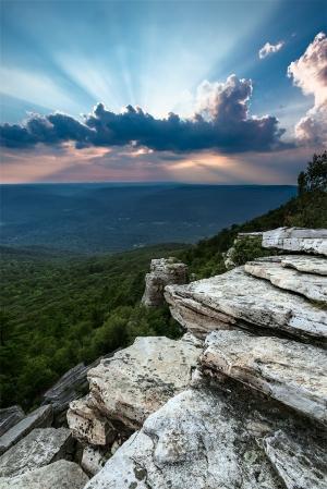 Photograph, © Greg Miller, Sunburst, Bear Hill Nature Preserve, Cragsmoor, NY