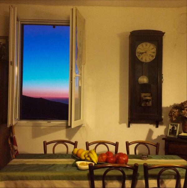Color photograph © Robert Herman of room and window