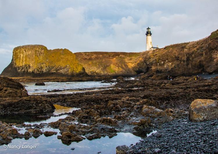 Yaquina Lighthouse, Oregon Coast © Nancy Langer