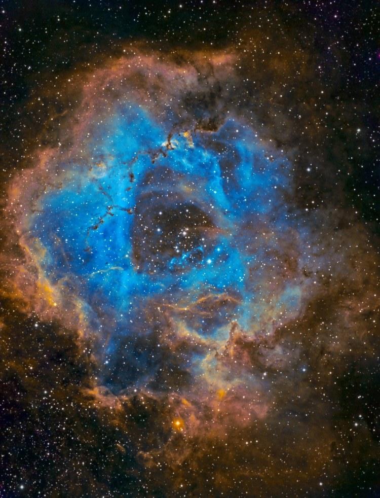 Rosette Nebula © Temu Nana