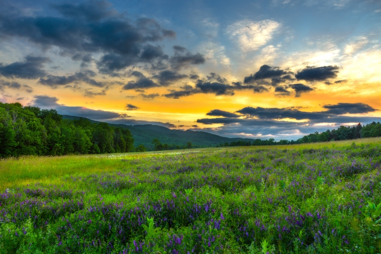 © Gerald Liddelow, Sunrise, Mohonk Preserve, NY