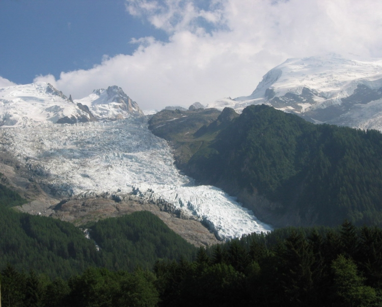 © Tom Wysmuller, Great Mont Blanc Glacier 7/22/2004, France